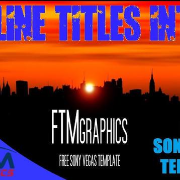 Skyline Titles Intro