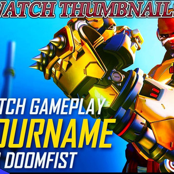 Overwatch thumbnails pack