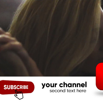3D YouTube Subscribe Banner