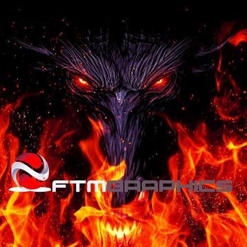 3D Epic Dragon Logo Reveal