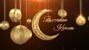 3D Ramadan Greeting Video 4 Colors