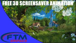 3D FHD Summer Wonderland Screensaver