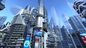 3D City of the Future - Hi Resolution Screensaver