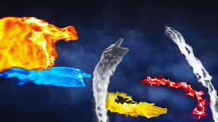 Cinematic Dragon Logo Reveal