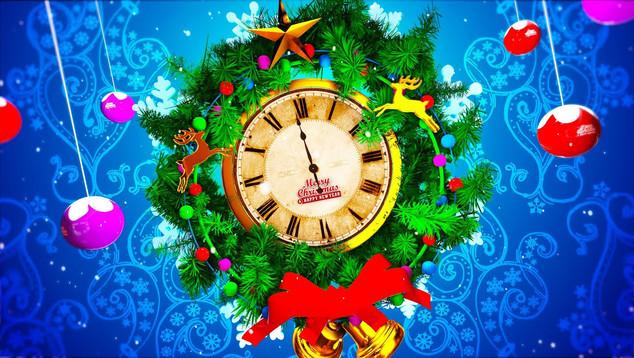 Christmas Greeting Logo Opener