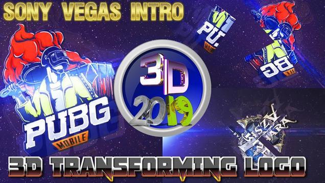 3D Intro Transforming Logo