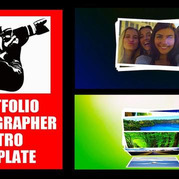 Portfolio Photographer Intro Template