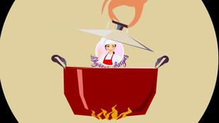 Cooking Logo Reveal