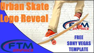 Urban Skate Logo reveal