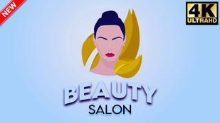 Beauty Salon - Girls Makeup Logo Reveal