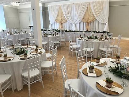 Reception - Beveridge Landmark Events
