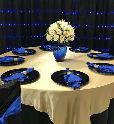 Blue LED Backdrop