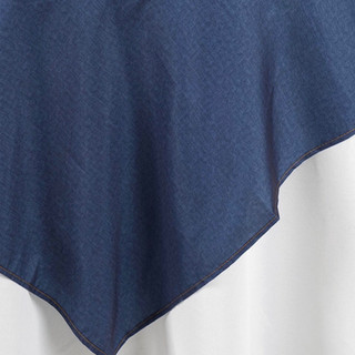 72inch Faux Denim Polyester Overlay