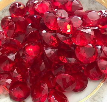 """Bulk Acrylic Gems .75"""""""