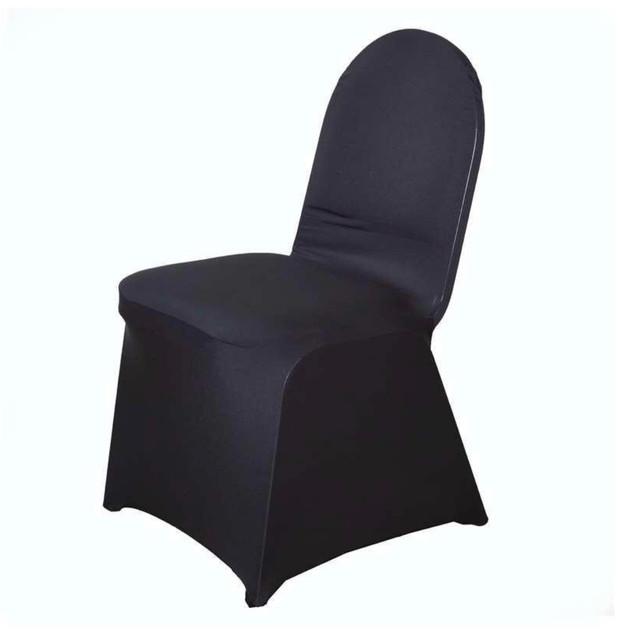 Banquet Spandex Chair Cover Black