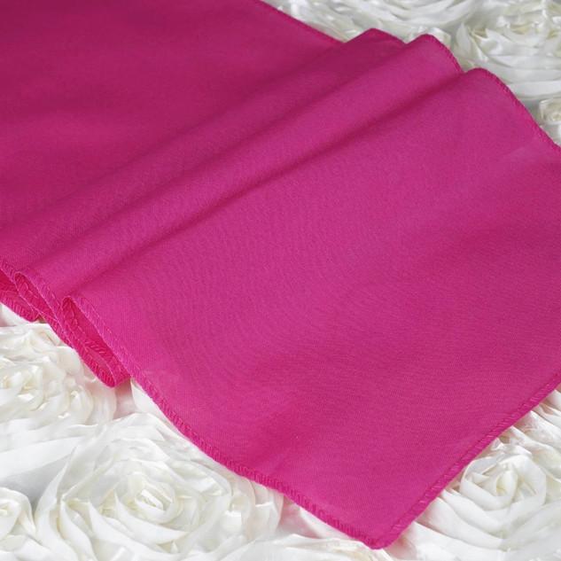 Polyester  Table Runner  Fuchsia