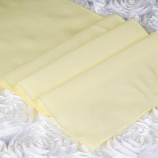 Polyester  Table Runner  Yellow