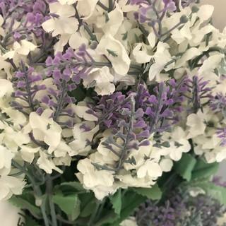 Lavender Stem - White & Lavender