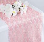 Flower Lace Runner Rose Quartz