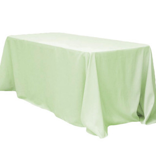 Polyester Rectangle Tablecloth Silver Sage