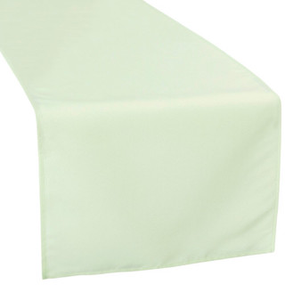 Polyester Table Runner Silver Sage