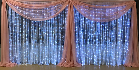 Lighted with Draping A