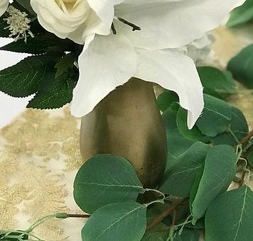 Gold Glass Vase
