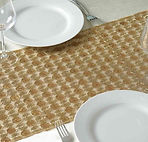 Upscale Sequin Runner Champagne 14x108