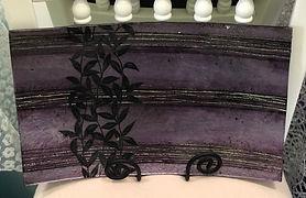 Decorative Glass Plate Purple.jpg