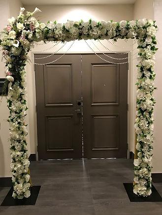 Flower Row Arch