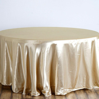 Satin Round Tablecloth Champagne.jpg