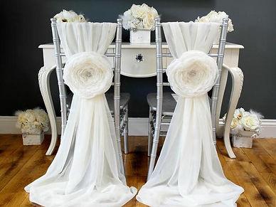 Chair Sash Styling Image