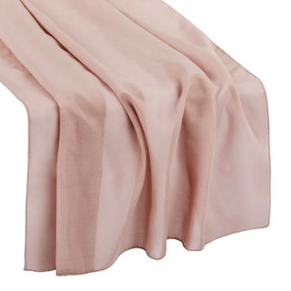 Chiffon Runner Dusty Rose 10'