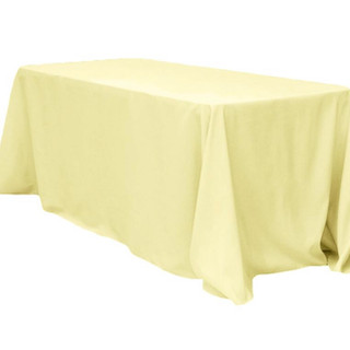 Polyester Rectangle Tablecloth Pastel Ye