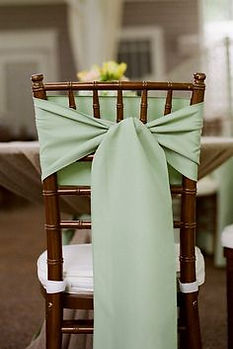 Wedding Sash styling - Flip Tie