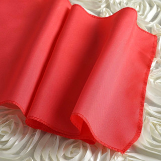 Polyester  Table Runner  Dark Coral