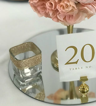 Sparkle Square Glass Votive Holder Rose