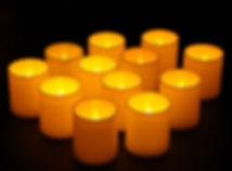 Basic White LED Votive Candles