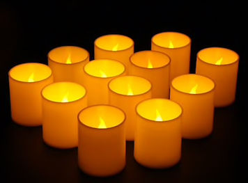 Basic White LED Votive Candles
