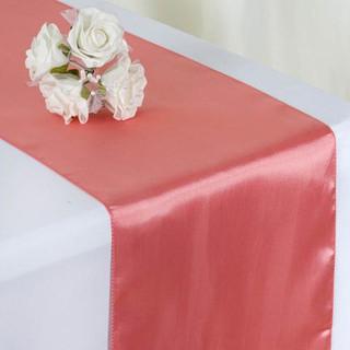 Satin Table Runner  Rose Quartz