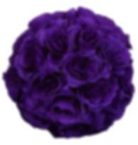 Kissing Ball Purple 7inch