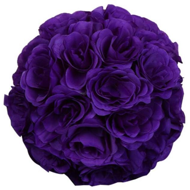 Kissing Ball Purple