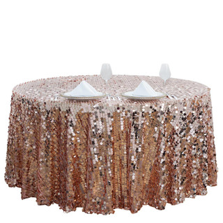Payette Sequin Tablecloth Blush