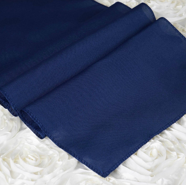 Polyester  Table Runner  Navy