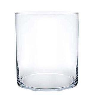 Vase - Clear Glass Cylinder