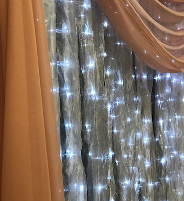 Lighted with Draping B