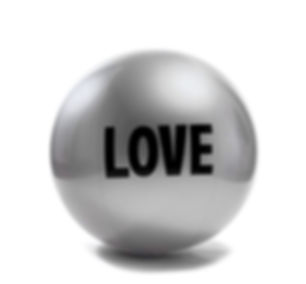 Big Love Ball with Electric Pump Silver