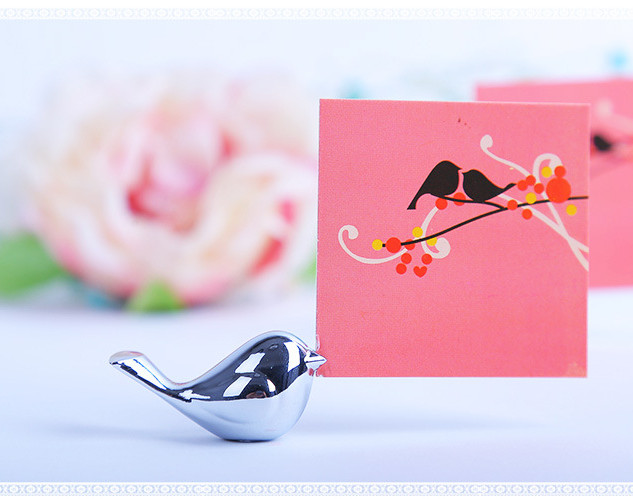 Place Card Holder - Birds of Love