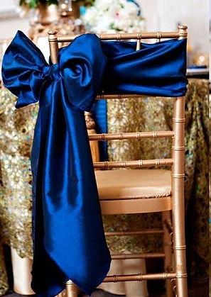 Wedding Sash styling - Side Bow