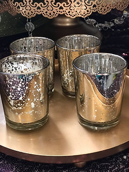Mercury Glass Votive Gold.JPG